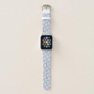 """Correa Para Apple Watch """"Inclinación 2"""" del ladrillo geométrico -"""