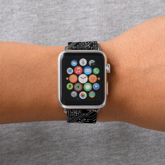 Correa Para Apple Watch La placa de circuito Apple del ordenador mira la