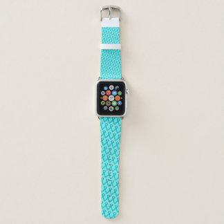 Correa Para Apple Watch Lt Blue/cinta estándar verde azulada de Kenneth
