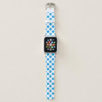 Correa Para Apple Watch Lunares azules