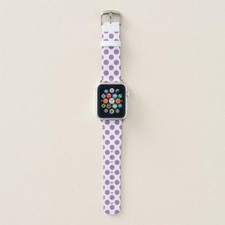 Correa Para Apple Watch Lunares de la lila