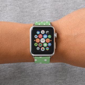 Correa Para Apple Watch Lunares verdes de Apple