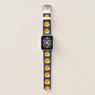 Correa Para Apple Watch Margarita amarilla