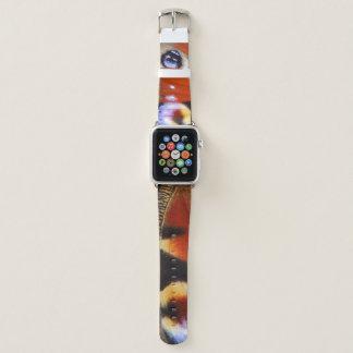 Correa Para Apple Watch mariposa de pavo real