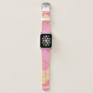 Correa Para Apple Watch Mármol elegante - melocotón