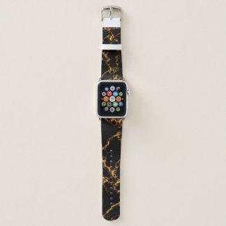 Correa Para Apple Watch Mármol elegante style3 - oro negro