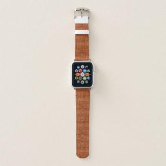 Correa Para Apple Watch Mirada de madera del grano del acacia rizado