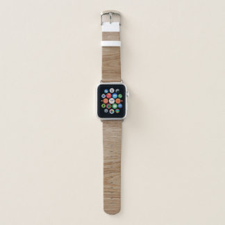 Correa Para Apple Watch Mirada del grano de madera de roble
