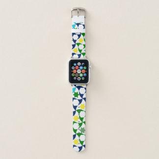Correa Para Apple Watch Modelo colorido de la estrella y del Hexagram