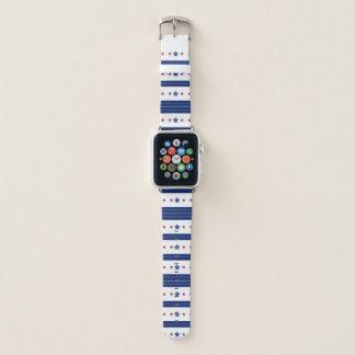 Correa Para Apple Watch Modelo de barras y estrellas único