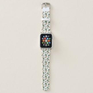 Correa Para Apple Watch Modelo de la piña de la acuarela