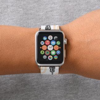 Correa Para Apple Watch Modelo de la radio de la guitarra de la música una