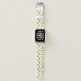 Correa Para Apple Watch Modelo de lunar de la fruta tropical