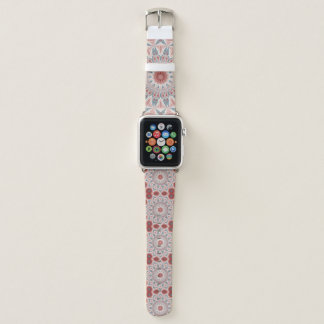 Correa Para Apple Watch Modelo moderno del arte del fractal de la mandala