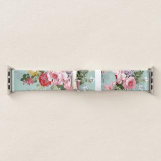 Correa Para Apple Watch Modelo rosado elegante de los rosas del vintage