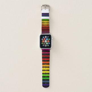 Correa Para Apple Watch Modelo sucio del arco iris