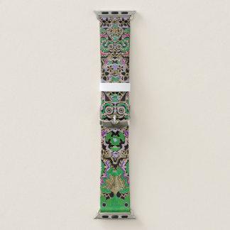 Correa Para Apple Watch Modelo tribal exótico del misterio de la mandala