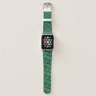 Correa Para Apple Watch Modelo tropical de las hojas