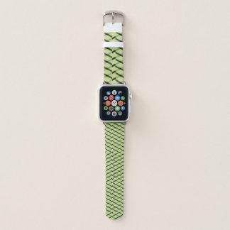 Correa Para Apple Watch modelo verde y negro del galón