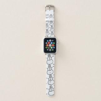 Correa Para Apple Watch Muñecos de nieve
