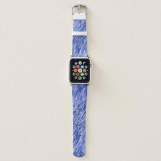 Correa Para Apple Watch Ondulaciones azules profundas