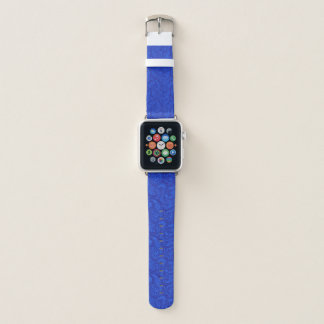 Correa Para Apple Watch Paisley azul