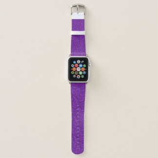 Correa Para Apple Watch Paisley púrpura
