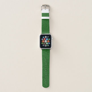 Correa Para Apple Watch Paisley verde