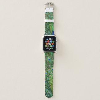 Correa Para Apple Watch Pavo real azulverde