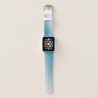 Correa Para Apple Watch Pendiente verde azulada y blanca