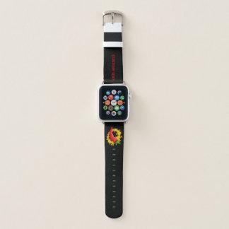 Correa Para Apple Watch Pimiento picante con la llama