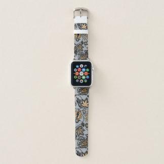 Correa Para Apple Watch Plata floral tropical hawaiana del batik del