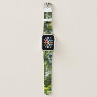 Correa Para Apple Watch Puntos verdes, amarillos, azules abstractos de