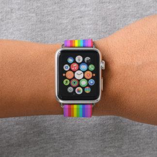 Correa Para Apple Watch Rayas del arco iris