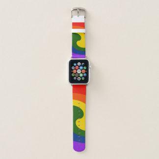 Correa Para Apple Watch Remolino del arco iris