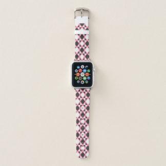 Correa Para Apple Watch Rosa intenso de Argyle