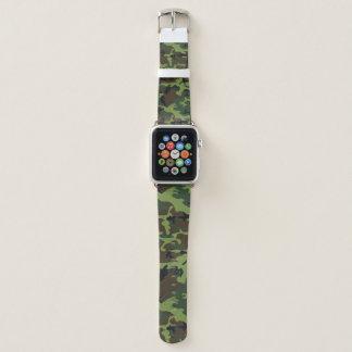 Correa Para Apple Watch Selva Camo verde