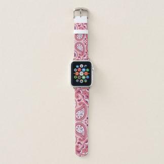 Correa Para Apple Watch Sombras femeninas bonitas del modelo de Paisley