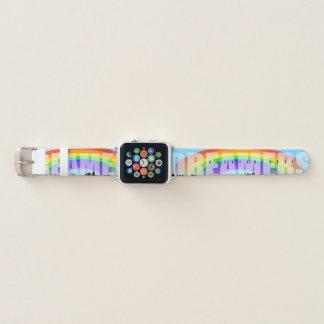 Correa Para Apple Watch Soñadores 2 de Daca del horizonte del arco iris