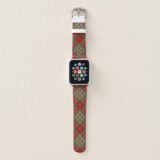 Correa Para Apple Watch Tela escocesa de tartán escocesa de Chattan del