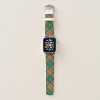 Correa Para Apple Watch Tela escocesa de tartán escocesa de Pollock del