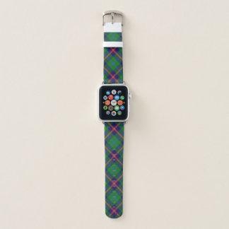 Correa Para Apple Watch Tela escocesa de tartán joven del clan escocés del