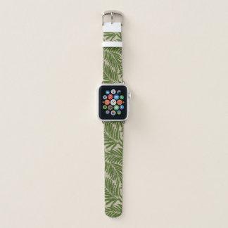 Correa Para Apple Watch Textura de lino hawaiana de las palmas de Kahanu -