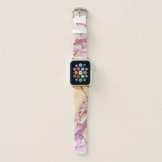 Correa Para Apple Watch Textura de piedra de mármol colorida