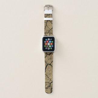 Correa Para Apple Watch Tierra seca con tierra agrietada en sequía