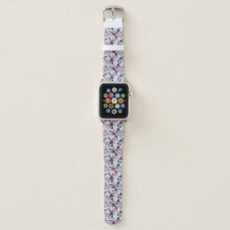 Correa Para Apple Watch Toucans con las flores exóticas