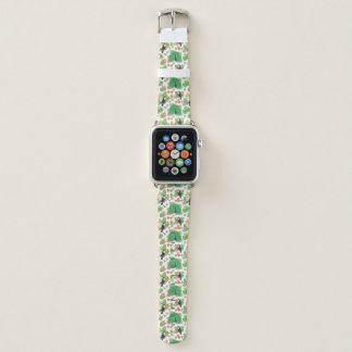 Correa Para Apple Watch Tucan y modelo del pavo real