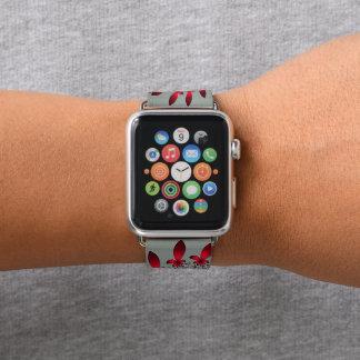 Correa Para Apple Watch Un espiral del copo de nieve