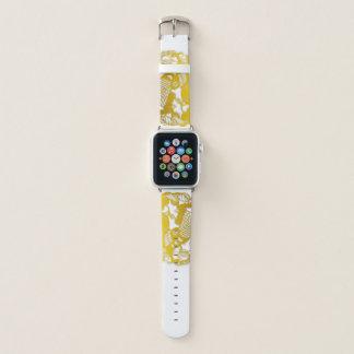 Correa Para Apple Watch Zodiaco chino de Papercut del gallo del oro un