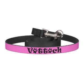 Correa Para Mascotas rosa del correo de la tecnología del veterinario